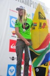 Bianca Buitendag (ZAF) who won silver for her country in the U18 Girls.