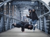 B-boys Menno and Victor seen during Red Bull BC One All Stars European Tour 2018 in Salzburg on March 5th, 2018 // Markus Berger / Red Bull Content Pool // AP-1UYUXEA7N2111 // Usage for editorial use only // Please go to www.redbullcontentpool.com for further information. //
