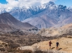 Ryan Sandes and Ryno Griesel leave the Dolpa region behind as they make their way towards Thorong La Pass (5416m) and the Annapurna Region, Nepal on March 10, 2018. // Dean Leslie / Red Bull Content Pool // AP-1V22DBV812111 // Usage for editorial use only // Please go to www.redbullcontentpool.com for further information. //