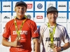 ZigZag Durban surf pro  Junior and open mens winners IanThurtell