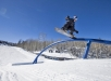 Mark McMorris performs during Men's Snowboard Slopestyle at Winter X 2017 in Aspen, CO - USA,  January 27, 2017. // Christian Pondella/Red Bull Content Pool // AP-1QWZFESGN1W11 // Usage for editorial use only // Please go to www.redbullcontentpool.com for further information. //