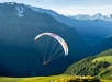 Paul Guschlbauer starting his flight to turnpoint 11, Huez, France, June 24, 2019 // Nicolas Holtzmeyer / Red Bull Content Pool // AP-1ZRB3C7ES2111 // Usage for editorial use only //
