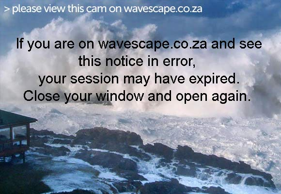 Melkbos beach Webcam, NSRI station facing the helipad and slipway - Wavescape.co.za
